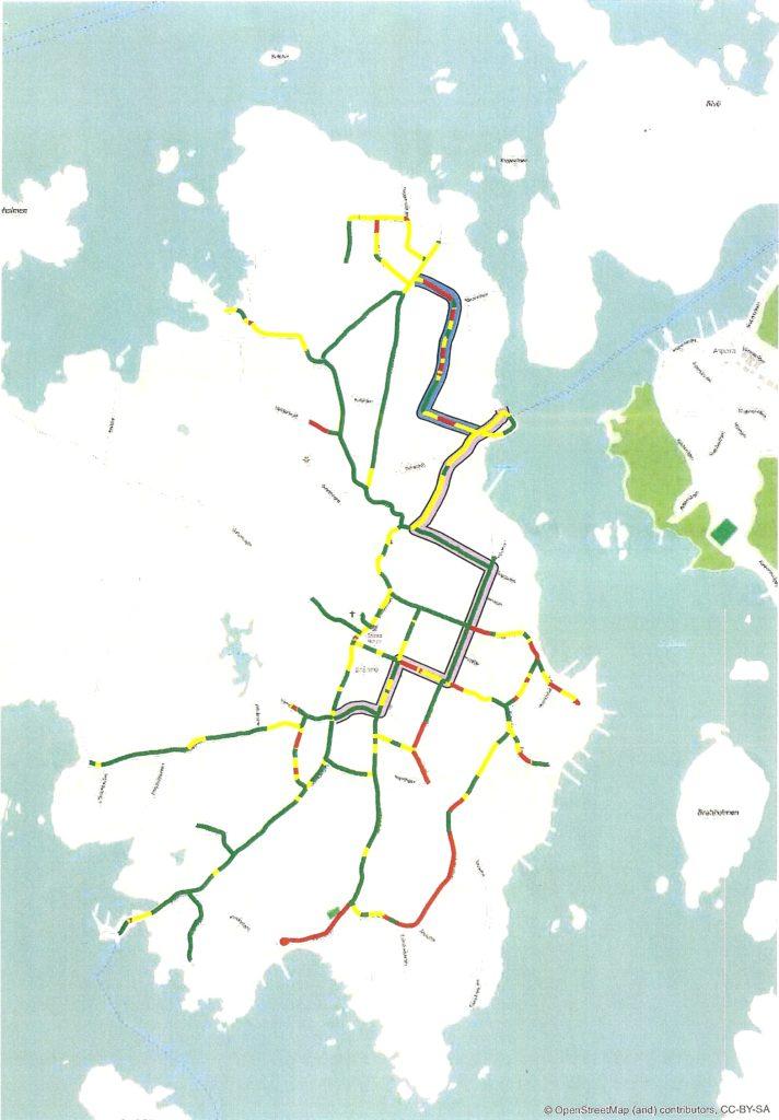brännö karta Karta – Brännö Vägförening brännö karta